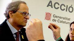 PSOE, PP y Ciudadanos critican las palabras de Torra, que puso a Eslovania como ejemplo para la independencia de Cataluña