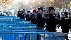 Final Libertadores: La Policía forma los tres cordones de seguridad en torno al Bernabéu