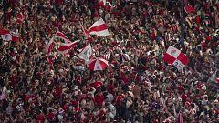 Los 'millonarios' celebran su cuarta Copa Libertadores