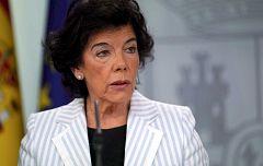 El Gobierno califica de inadmisible lo ocurrido en Cataluña y anuncia medidas