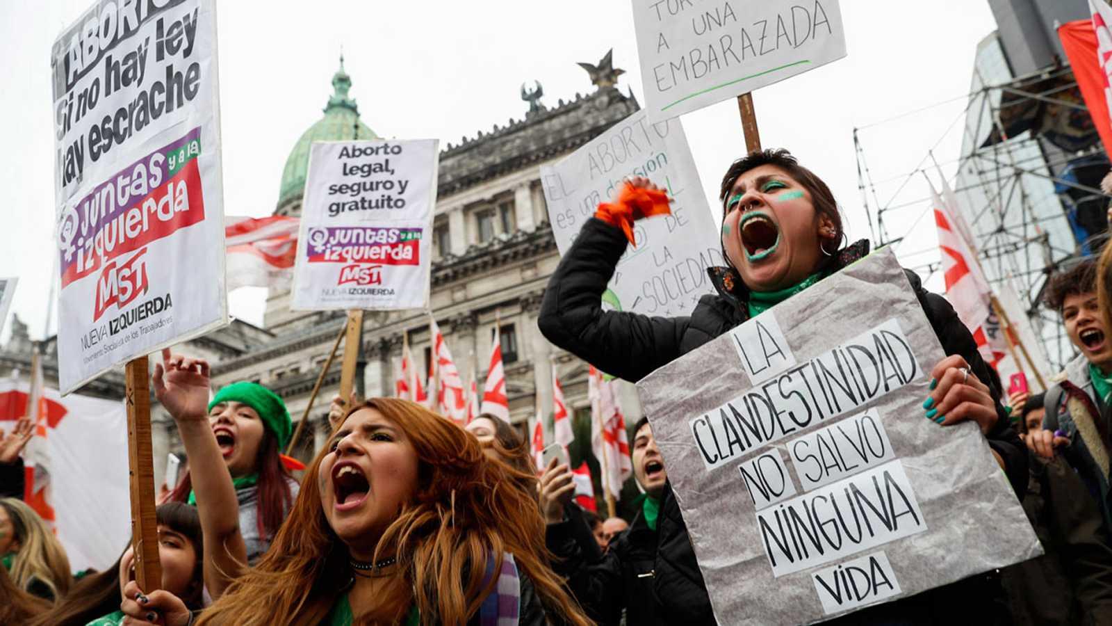 Las mujeres, en la primera línea de la lucha por los derechos humanos