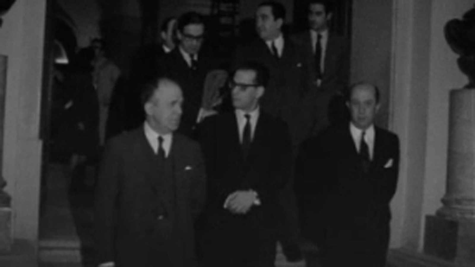 Noticias Nacional 1968 - El secretario de Difusión y Turismo de Argentina, en El Prado