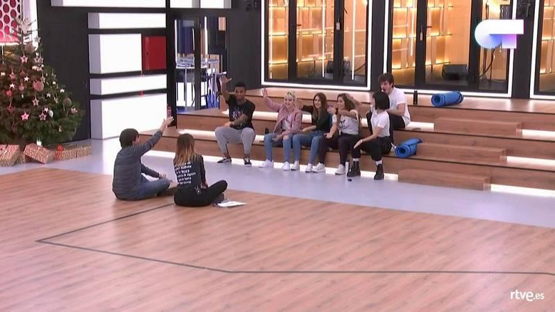 Noemí Galera y Manu Guix reparten los temas de Eurovisión a los concursantes de OT 2018