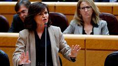 Calvo descarta el cese de Tezanos y acusa al PP de laminar las instituciones cuando pierden el poder