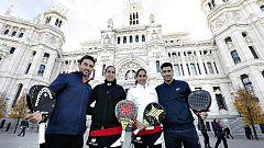 Madrid se prepara para acoger a los maestros del pádel