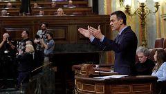 """Sánchez advierte a Torra de una respuesta """"contundente"""" y """"proporcional"""" si se sale de la legalidad"""