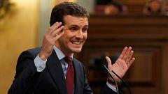"""PP y Cs exigen a Sánchez que """"aterrice"""" y aplique el 155 e Iglesias le recomienda que """"no incendie"""" Cataluña"""