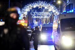 El ataque se produjo en el centro de Estrasburgo