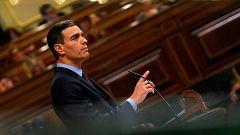 """Sánchez avisa a Torra de una respuesta """"contundente"""" si sale de la legalidad"""