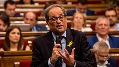 """Torra insiste en pedirle a Sánchez una reunión """"de gobierno a gobierno"""" para hablar de independencia"""