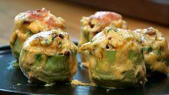 Torres en la cocina - Alcachofas gratinadas