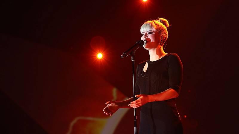 "OT 2018 - Alba canta ""She used to be mine"" en la gala 12"