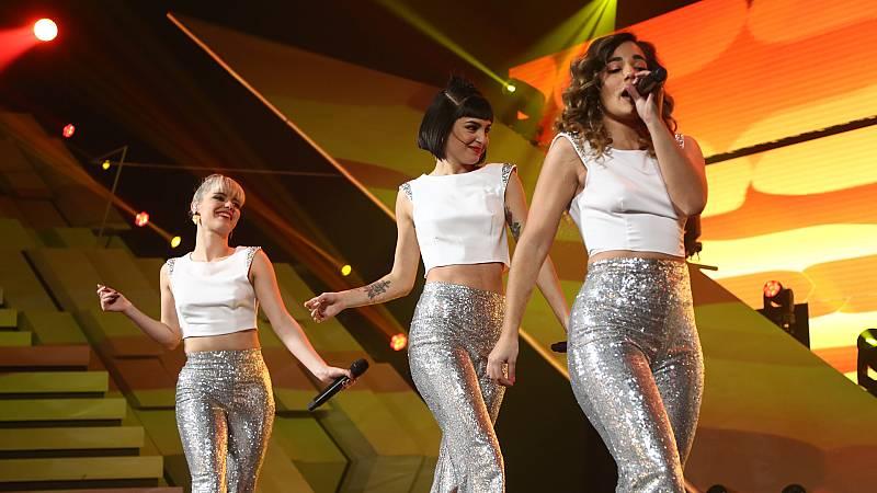 "OT 2018 - Alba, Natalia y Julia cantan ""Este amor ya no se toca"" en la gala 12"