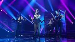"""OT 2018 - Ana Guerra canta """"Bajito"""" en la gala 12"""