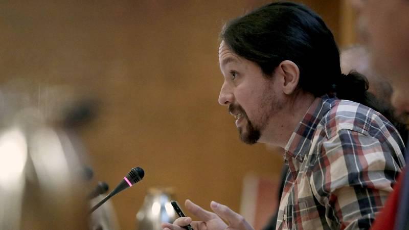 Pablo Iglesias niega cualquier financiación irregular de Podemos en el Senado