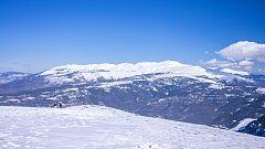 Nevadas en los principales sistemas montañosos