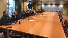 Representantes sindicales de los Mossos desconvocan su encierro tras reunirse con Interior