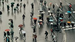 Lluvias fuertes en el área mediterránea