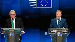 Juncker descarta nuevas obligaciones vinculantes para la Unión Europea en el 'Brexit'