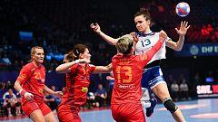 Balonmano - Campeonato de Europa Femenino: 1ª semifinal: Rusia - Rumanía