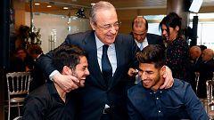 Isco, protagonista en la comida de Navidad del Real Madrid