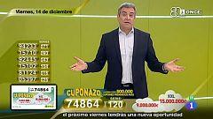 Sorteo ONCE - 14/12/18