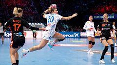 Balonmano - Campeonato de Europa Femenino: 2ª semifinal: Holanda - Francia0