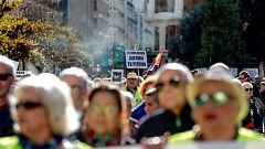 Cientos de pensionistas se manifiestan por todo el país
