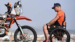Nicola Dutto, primer piloto parapléjico en correr el Dakar en moto