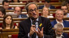El Gobierno trabaja para que haya reunión entre Pedro Sánchez y Quim Torra