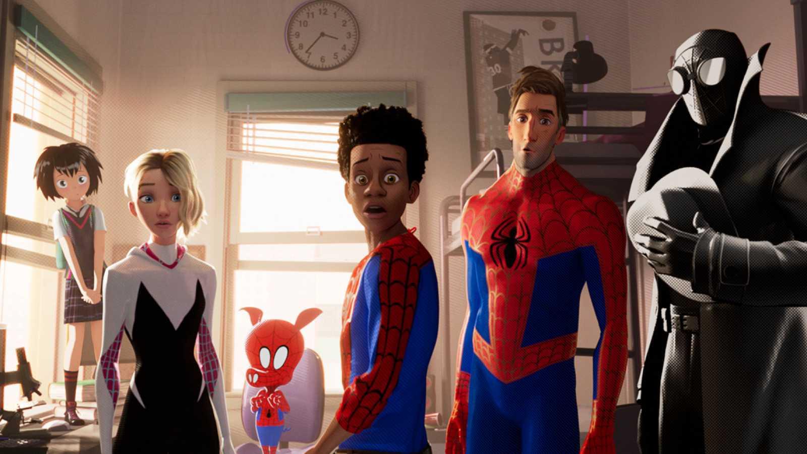 Tráiler De Spider Man Un Nuevo Universo Rtve Es