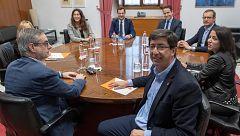 PP y Cs encallan en los apoyos para la conformación de la Mesa del Parlamento andaluz