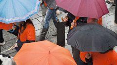 Viento fuerte y lluvias en Galicia y nevadas en cordillera cantábrica