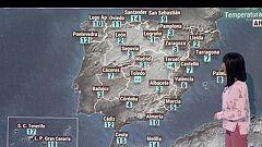 Viento fuerte y lluvias en Galicia y nevadas en la cordillera cantábrica