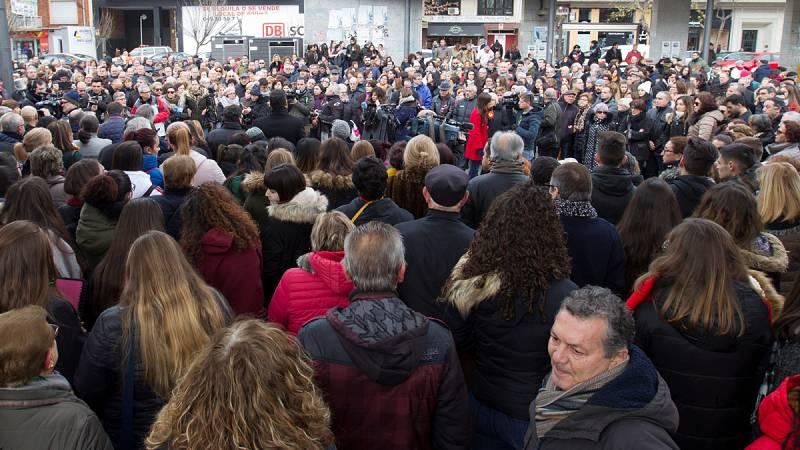 Los homenajes y condolencias por Laura Luelmo se extienden por España