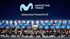 El Movistar presenta a sus equipos de cara al 2019