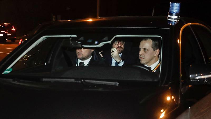 El primer ministro de Bélgica, Charles Michel, anuncia su dimisión