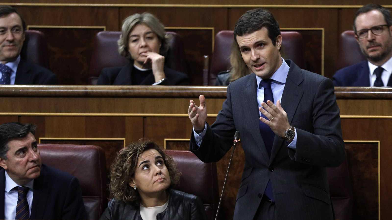 """El PP critica la reunión de Sánchez con Torra al que acusa de querer """"un derramamiento de sangre"""""""