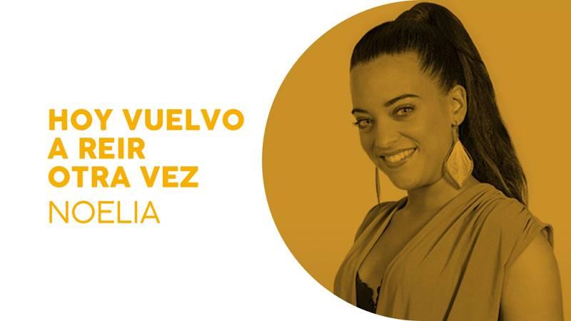 """Eurotemazo: Noelia canta """"Hoy vuelvo a reír otra vez¿"""