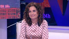 """María Jesús Montero, ministra de Hacienda: """"Los presupuestos entrarán en el Congreso la última semana de enero o la primera de febrero"""""""