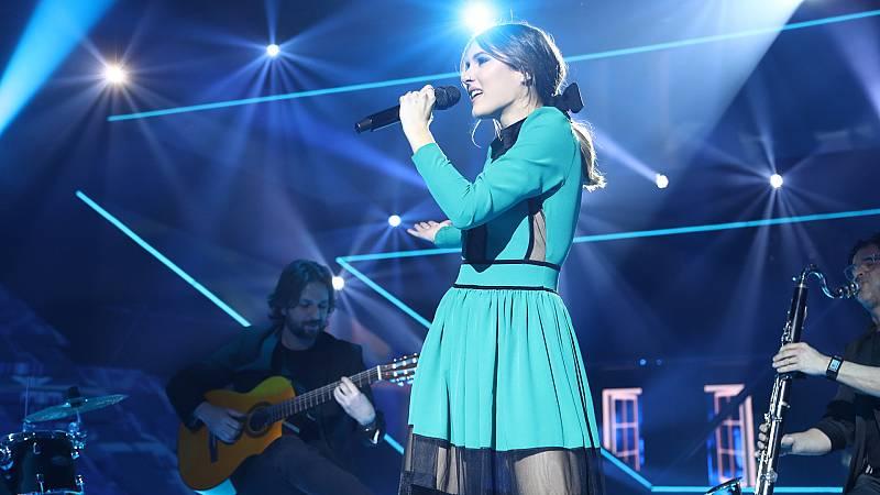 """OT 2018 - Sabela canta """"Tris tras"""" en la gala final"""