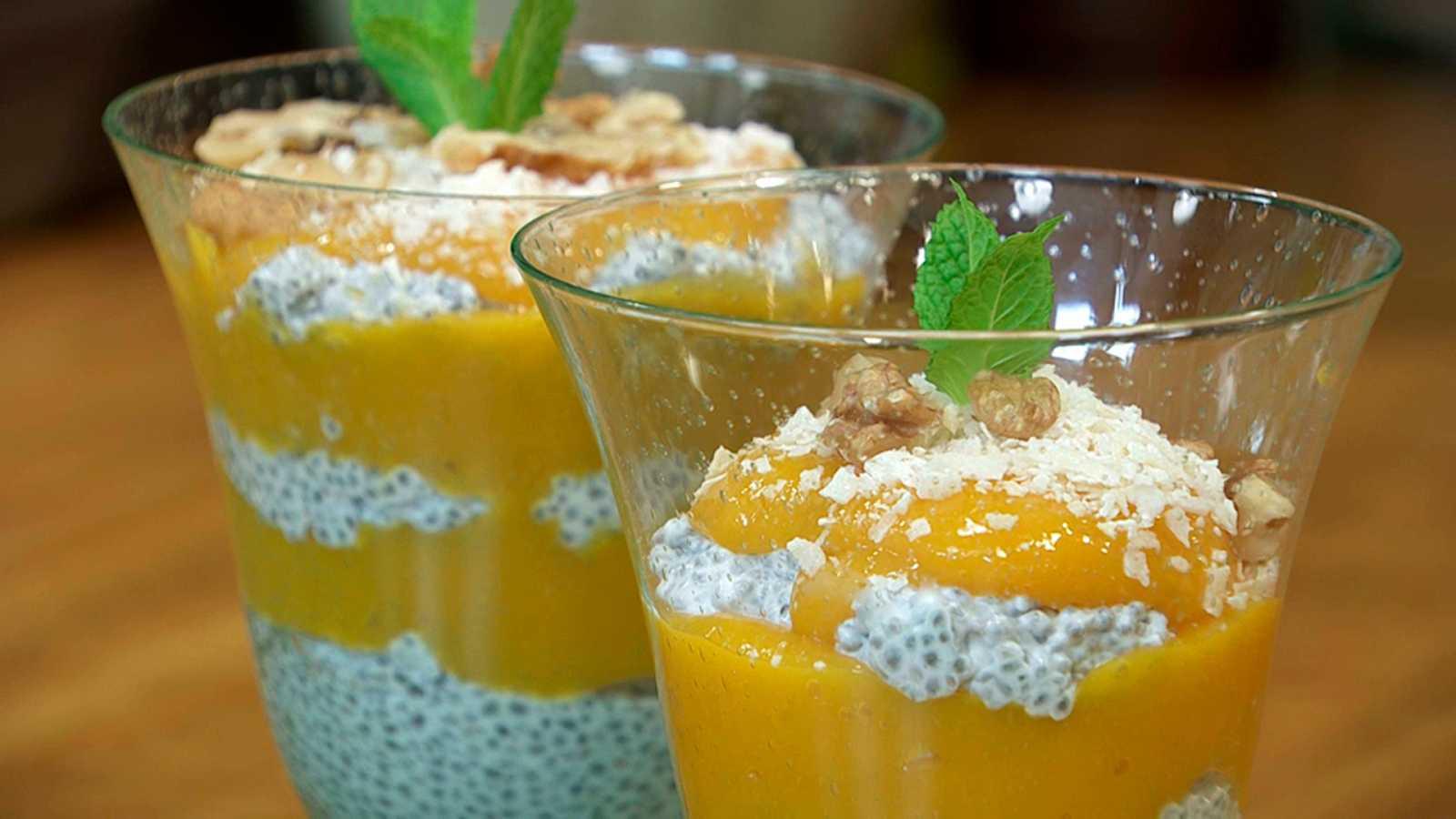 Torres en la cocina - Copa de chía y mango