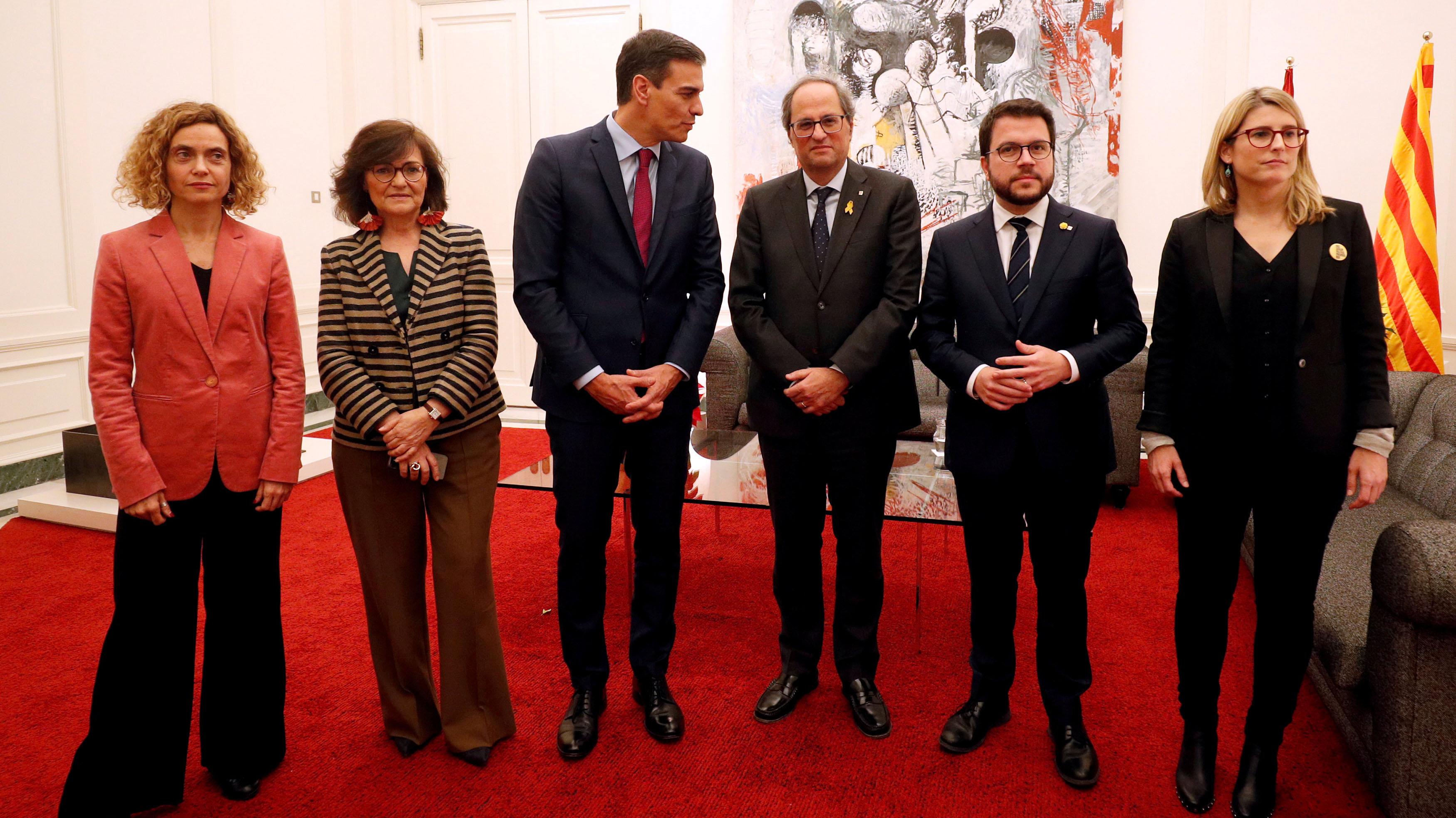 """Resultado de imagen de El Gobierno y la Generalitat apuestan por el """"diálogo efectivo"""" y se verán en enero"""