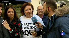 La mañana - Cinco billetes del Gordo en Triana (Sevilla)