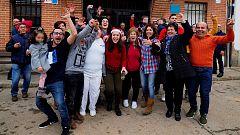 La Mañana - La mayor parte de los 331 habitantes de San Román de Hornija se llevan el quinto premio 7.568