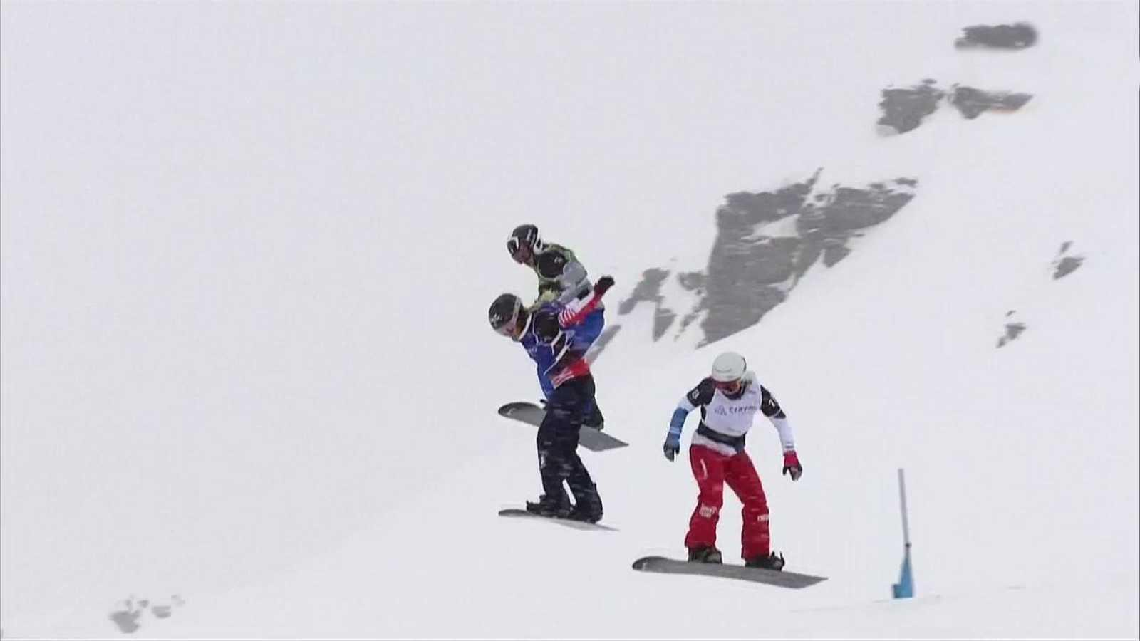 Snowboard - Copa del Mundo 2018/2019 Finales Snowboard Cross Prueba Cervinia - ver ahora