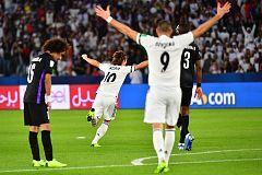 Modric pone por delante al Real Madrid (1-0)