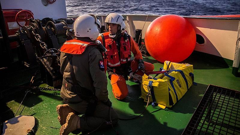 El Open Arms navega rumbo a Algeciras - Ver ahora