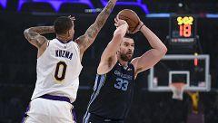 Marc Gasol y Luka Doncic brillan en la NBA