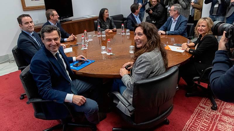 PP y Cs cierran el acuerdo de gobierno en Andalucía